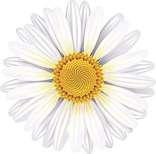 Divine Designs Pretty Classic Flower Cartoon Art Vinyl Decal Sticker (4