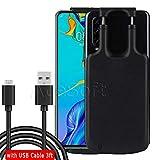 [Moto G7 Battery Case] 5000mAh Universal Type C Port Extended Battery Rechargeable Charging Case for Motorola Moto G7/G7 Power/G7 Plus/G7 Supra Phone