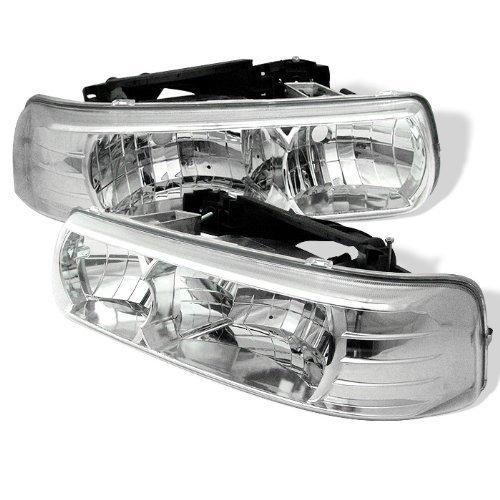 02 tahoe chrome headlights - 6