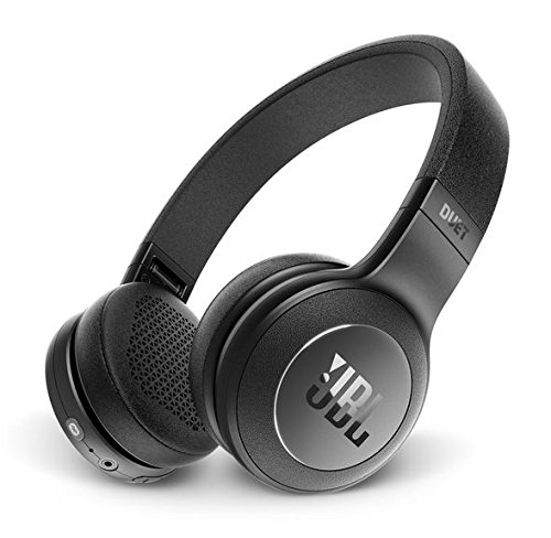 JBL Duet BT Kopfband Binaural Verkabelt Schwarz Mobiles Headset - Mobile Headsets (Verkabelt, Kopfband, Binaural, Ohraufliegend, 20-20000 Hz, Schwarz)