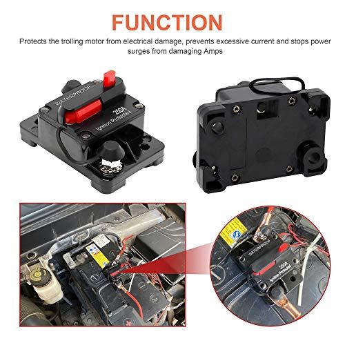 Circuit Breaker For Trolling Motors Boat Function