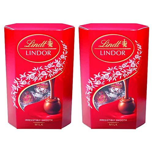 2 Caixas de 75g, Bombons de Chocolate Suiço, Lindt Lindor