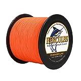 Hercules Super Strong 100m-2000m geflochtene Angelschnur 6lb - 100lb Test für Salzwasser-Süßwasser-PE-Geflechtfischleinen 4 Stränge