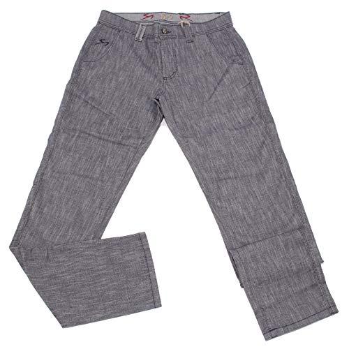Carlo Chionna 5008X Pantalone Uomo 9.2 Blue Cotton Trouser Man [31]
