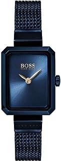 Hugo Boss Whisper Women's Blue Dial Stainless Steel Band Watch - 1502433