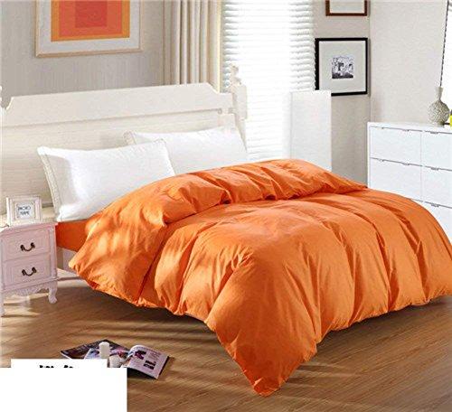 bed lining Bettbezug aus Baumwolle, einteilig, Einzelbett mit Einzelbett,135 x 200 cm (53 x 79 Zoll),E