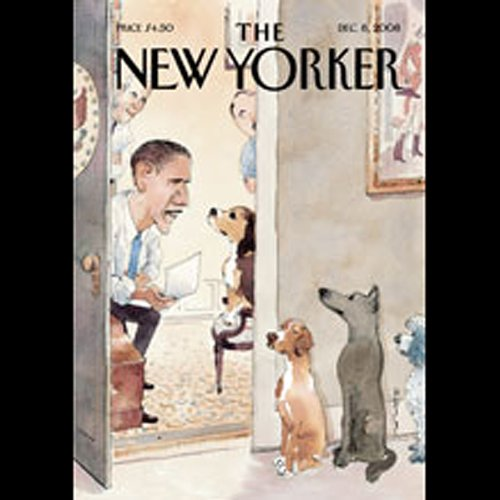 The New Yorker, December 8th, 2008 (Graeme Wood, Ian Frazier, Nancy Franklin) audiobook cover art