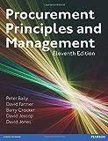 Procurement, Principles & Management