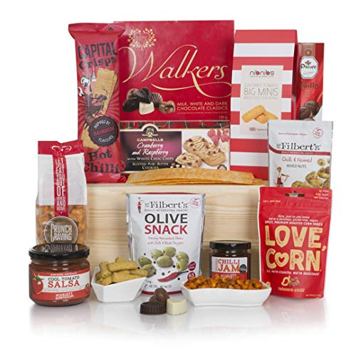 Spicy Food Lovers Hamper - Chilli & Spice Selection - Alcohol Free - Hampers & Gifts Baskets