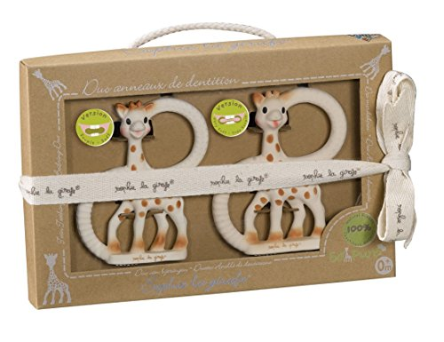 Sophie la Girafe - 220110 - Mordedores So'Pure Blandos Sophie La Jirafa 0m+ 2 uds
