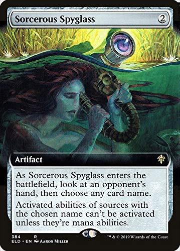 Magic : The Gathering MTG - Sorcerous Spyglass - Throne of Eldraine XELD 384/397 日本語(Japanese)