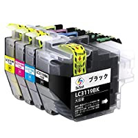 ブラザー LC3119 LC3117 互換 インク 大容量 LC3119-4pk(BK/C/M/Y) 残量検知対応 国際認証 2年保証 対応機種 MFC-6583CDW MFC-J6980CDW MFC-J6580CDW MFC-6983CDW