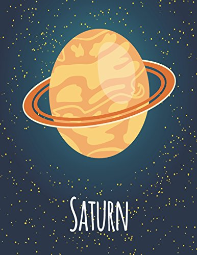 Saturn: Saturn cover and Dot Graph Line Sketch pages, Extra large (8.5 x 11) inches, 110 pages, White paper, Sketch, Draw and Paint (Saturn notebook, Band 1)
