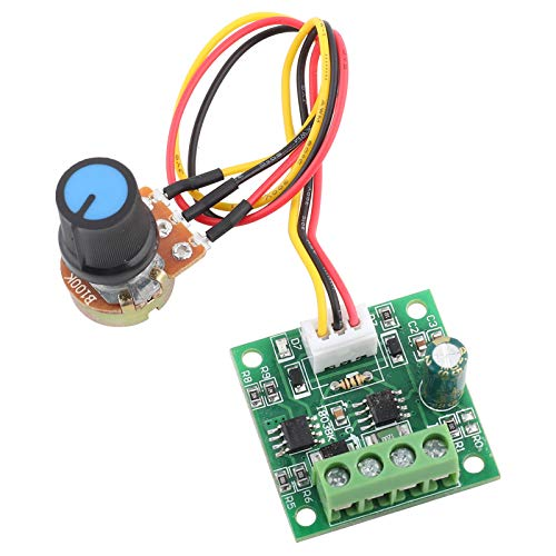 1803BW DC Motor Controller (PWM), 1.8V 3V 5V 6V 12V 2A DC Niederspannungs Motor Controller Board (ohne Potentiometer Switch)
