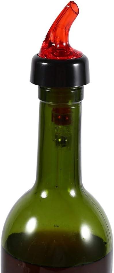 bec verseur mesur/é 50 ml en plastique mesur/é bouteille dalcool verseur Shot Bar Pub vin distributeur de Cocktail chaud blanc Tir de bouteille