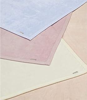 西川 東京西川 綿毛布 ダブル 綿100% クオリアル QL0604 オールコットン 日本製 シール織 無地 51624 ピンク[P] ダブル