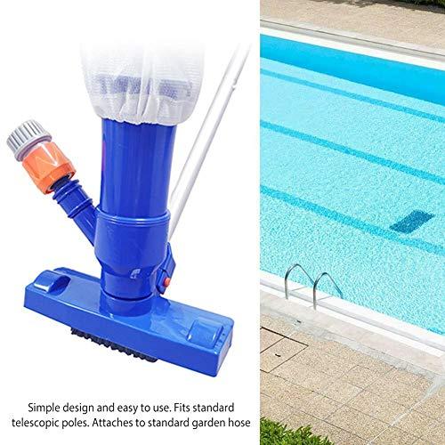 oshidede Tragbarer Pool-Staubsauger-Unterwasserreiniger Mit Bürste Und Beutel Für Pool-Spas-Teiche