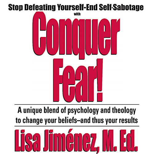 Conquer Fear! audiobook cover art