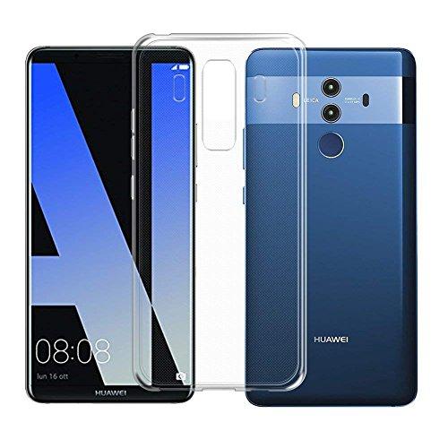 TopACE Hülle für Huawei Mate 10 Pro, TPU Hülle Schutzhülle Crystal Case Durchsichtig Klar Silikon transparent für Huawei Mate 10 Pro (Transparent) - 2