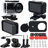 GFCGFGDRG 30 Piezas/Set de Repuesto para MIJIA Carcasa Impermeable Marco Lente Cap Film Adapter Sport cámara Deportes Protect Cover