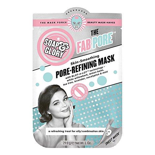 SAVON & GLOIRE The Fab Pore affinage des pores feuille Masque 29.0g