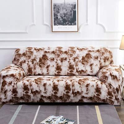 ASCV Splash Färbemuster Sofabezug Schonbezug Sofa für Sofatuch Wohnzimmermöbel Schutzsessel Sofas A4 2-Sitzer