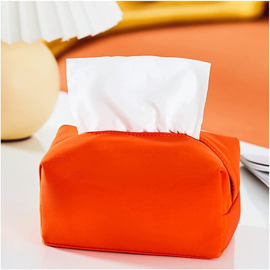 XWDQ Retro Free shipping New Cute Fabric Tissue Color with Matching Spasm price Holder Living