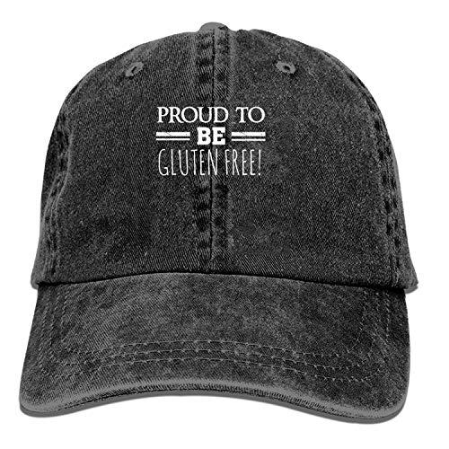 LUXNG Baseball Cap-Trots om te worden Glutenvrij Ik niet zetten Brood Cowboy Hoeden voor Heren Vrouwen Pa, Sport Baseball Caps