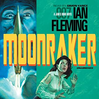 Moonraker audiobook cover art