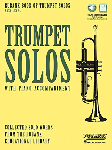 professional Rubank Book of Trumpet Solos – Easy Level: Book with Online Audio (Watch or Download Online)