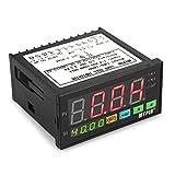 Festnight Indicatore delle celle di carico del display digitale a LED Indicatore delle celle di carico 1-4 Celle di carico Segnali Ingresso 2 Uscita allarme relè