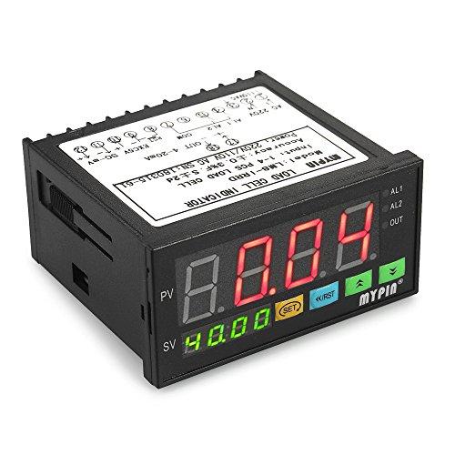 Ajcoflt Medidor de peso de la pantalla LED digital Indicador de células...