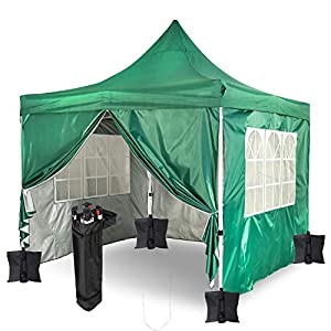 GARDENCO Pop Up Gazebo with Weights and Sides