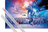 1art1 Star Wars Poster (91x61 cm) Legacy Characters