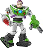 Disney Pixar Toy Story Ultimate Space Ranger Buzz Lightyear Figure in Movie Scale with Lights, Sounds, Astro Gear Storytelling Accessories Jet Pack, Blaster, Claw, Moon Boots, Helmet