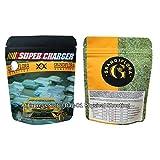 50 / 100x Desodorante en Bolsa de Galletas Cali Bag SF Bolsa de película de poliéster Cali (Incluye letreros y Etiquetas Anti-falsificación), Super Charger, 100 Piezas