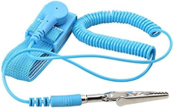Corpco ESD Anti-Static Wrist Strap with Removable Cable - Expandable to fit All Wrists