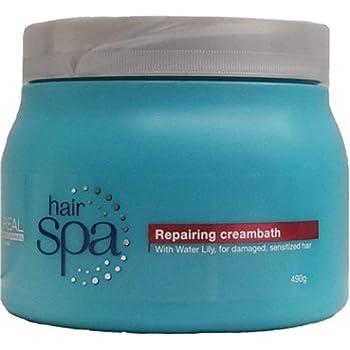 L'Oreal Paris Hair Spa Repairing Cream Bath for Damaged Hair, 490 g