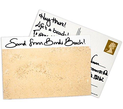 Suck UK Carte postale adhésive peler/coller