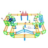 Double-track ever-changing electric rail car toy high-speed toy car rail car children free