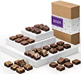 Fairytale Brownies Magic Morsel 36 Gourmet Chocolate Food Gift Basket - 1.5 Inch x 1.5 Inch Bite-Size Brownies - 36 Pieces - Item CF436