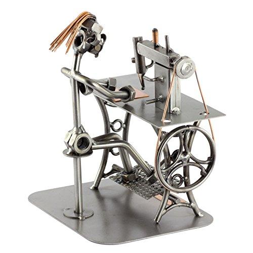 Steelman24 I Costurera I Made in Germany I Idea para Regalo I Figura de metalo
