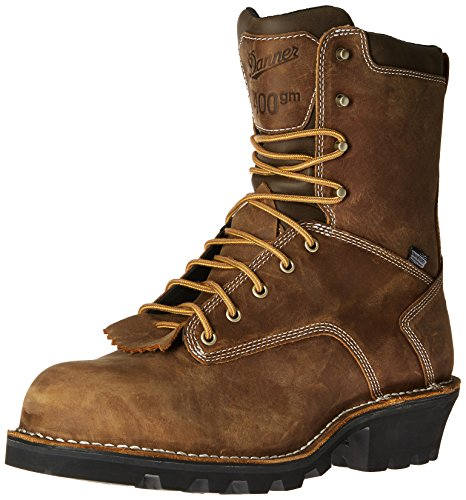 "Danner Men's Logger 8"" 400G NMT Work Boot, Brown, 10 D US"