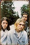 Nirvana Blechschilder Vintage Metall Poster Retro Schild
