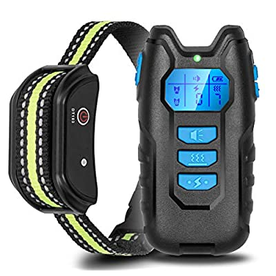 Amazon - Save 40%: Yoobure Dog Training Collar Rechargeable Shock Collar Set with Remote,…