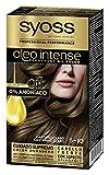 Syoss Oleo Intense - Tono 5-10 Castaño Claro – Coloración permanente sin amoníaco – Resultados de peluquería – Cobertura profesional de canas