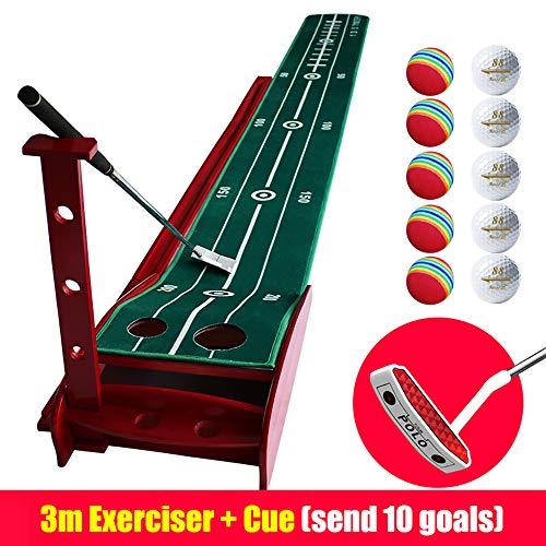 SSeir Professional Putting Practice Putting Mats Gras Praktijk Mat Hitting Pad Launch Pad voor Volwassen kind achtertuin Outdoor Indoor