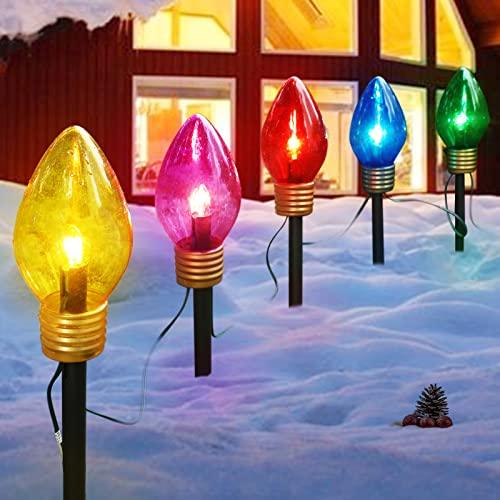 Christmas Lights Jumbo C9 Outdoor Lawn...