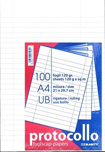 BLASETTI Cf100fogli Protocollo 120gr. Ub
