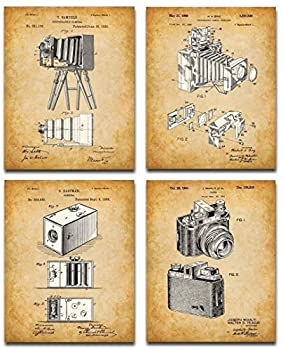 Old Patent Camera Art Prints